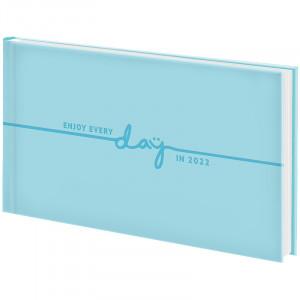 Еженедельник 2022 датированный карманный BRUNNEN Torino Trend, голубой  (73-755 38 322)