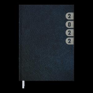 Ежедневник датир. 2022 INDEX, A5, синий (BM.2103-02)