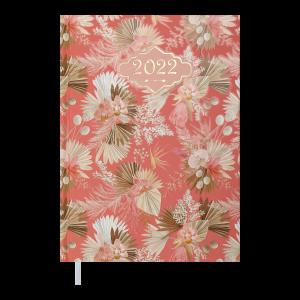 Ежедневник датир. 2022 BLOSSOM, A5, персиковый (BM.2136-46)