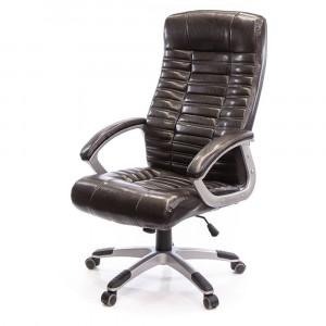 Кресло АКЛАС Атлант MP (XY-7147) Коричневый (PU-темно-коричневый)