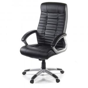 Кресло АКЛАС Атлант MP (XY-7147) Черный   (PU-черный  )