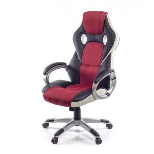 Кресло геймерское АКЛАС Антарес PL TILT Черный (Черный/Красный)