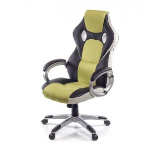 Кресло геймерское АКЛАС Антарес PL TILT Черный (Черный/Салатовый)