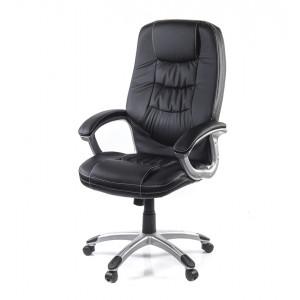 Кресло АКЛАС Синай PL TILT Черный (PU-черный)