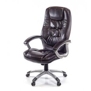 Кресло АКЛАС Синай PL TILT Коричневый (PU-темно-коричневый)