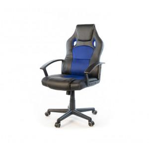 Кресло геймерское АКЛАС Анхель NEW PL TILT Черный (Черный/Синий)