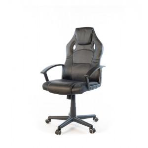 Кресло геймерское АКЛАС Анхель NEW PL TILT Черный (Черный/Серый)