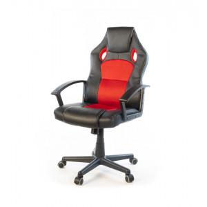 Кресло геймерское АКЛАС Анхель NEW PL TILT Черный (Черный/Красный)