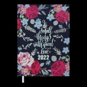 Ежедневник датир. 2022 FATTORE, A5, синий (BM.2139-02)
