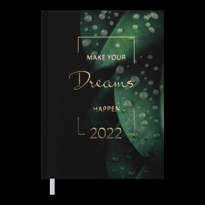 Ежедневник датир. 2022 MAGIС, A5, зеленый (BM.2159-04)