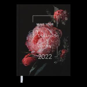 Ежедневник датир. 2022 MAGIС, A5, красный (BM.2159-05)