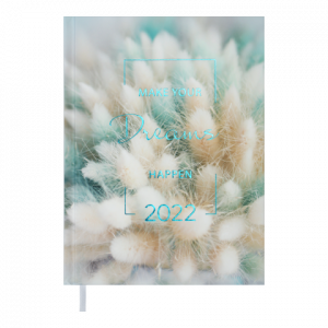 Ежедневник датир. 2022 MAGIС, A5, бирюзовый (BM.2159-06)