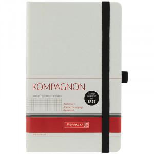 Записная книжка A5 96 л (192 стр) клетка BRUNNEN Компаньон (белый) (10-559 28 05)