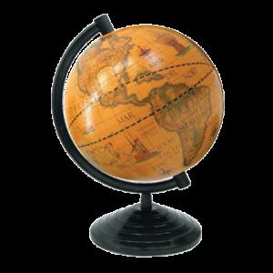 Глобус старинный Марко Поло, d-160 мм (на пластиковой подставке) (GMP.160стар.)