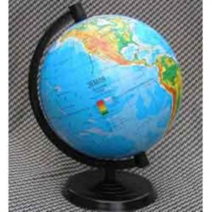 Глобус физический Марко Поло, d-220 мм (на пластиковой подставке) (GMP.220ф.)