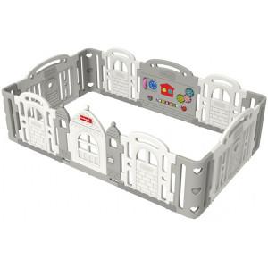 Детский манеж Castle (2400x1500x783 мм) - DOWNY GREY